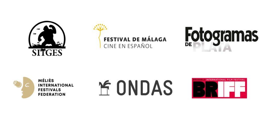 Logos de premios de ficción de José Ramón Lorenzo